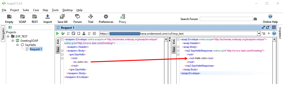 Simple Hello iFlow using Sender SOAP Adapter, WSDL and