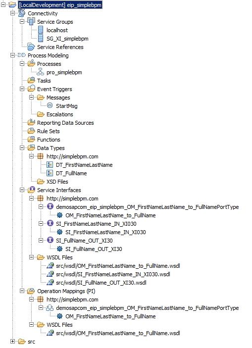 simplebpm-project-explorer